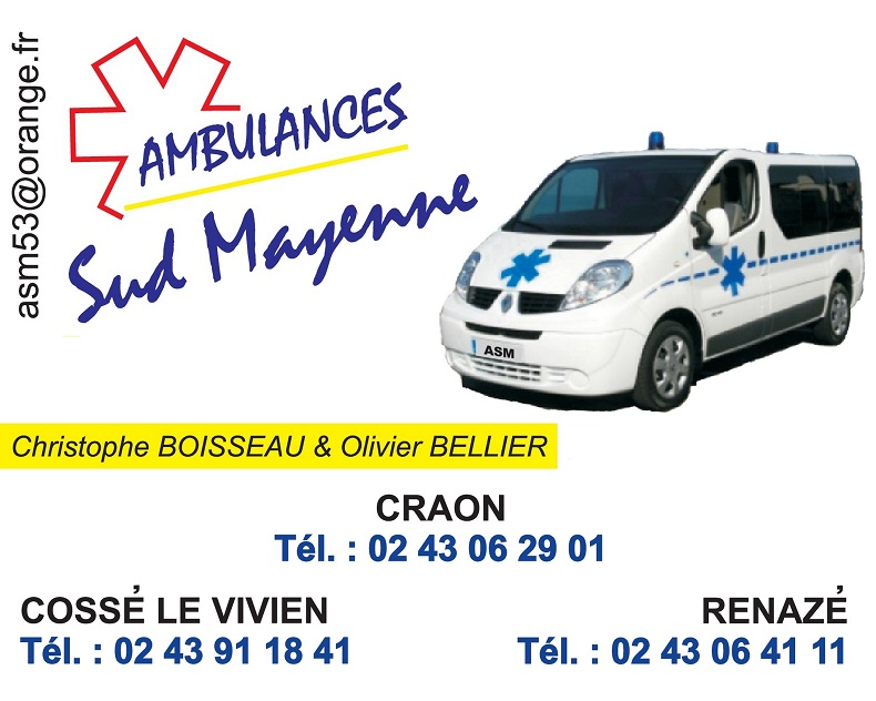 Ambulances Sud Mayenne